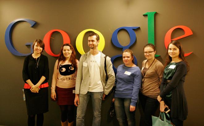 """Знакомство студентов курса """"Эффективная контекстная реклама"""" с компанией Google"""