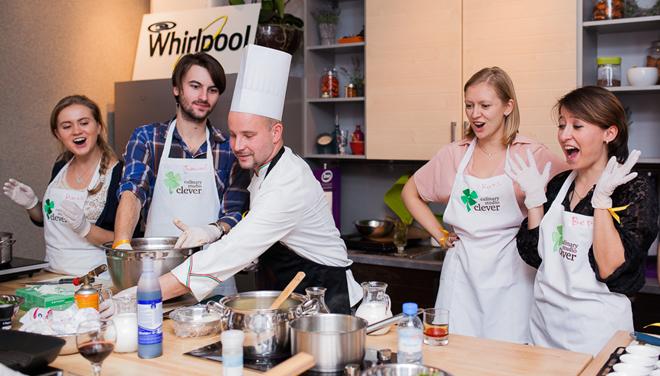 Teambuilding Le Courrier de Russie с кулинарным поединком: раскрепощает и сближает!