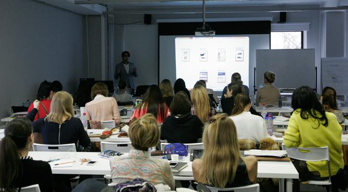 Unibrains в Британской высшей школе дизайна. Обучаем студентов курса «Дизайн интерьеров»
