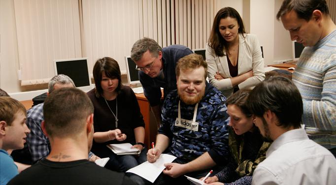 Тренинг по выстраиванию коммуникативных связей в учебном центре Unibrains